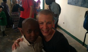 One of the many children I met in Kigali...introduced by Mary.
