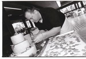Tim, Master Cake Maker.
