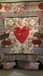 """Love is Pain."" Artist, Judith Hladik-Voss."