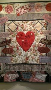 """Love is Pain."" Artist, Judith Hladik-Voss."