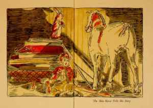 The Skin Horse tells his story.  Illustrations, William Nicholson.