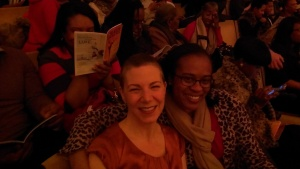 Two Dancers -- Khara and I.