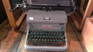 Stop Two.  Typewriter at Roost, the one that connected me back to people, and to myself.