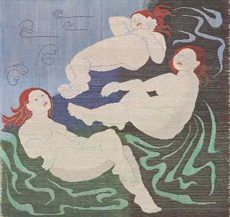 The Three Graces. Ethel Stein. 1995
