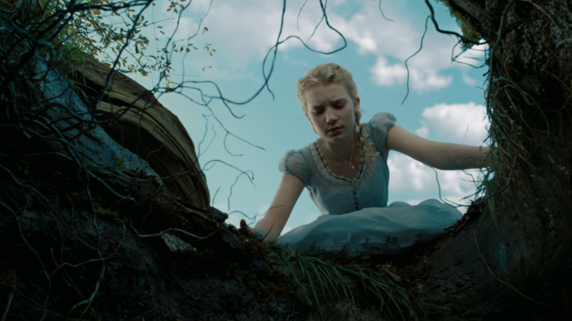From Tim Burton's 2010 Alice In Wonderland.