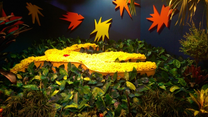 "From the 2015 Chicago Macy's Flower Show ""Art in Bloom."""