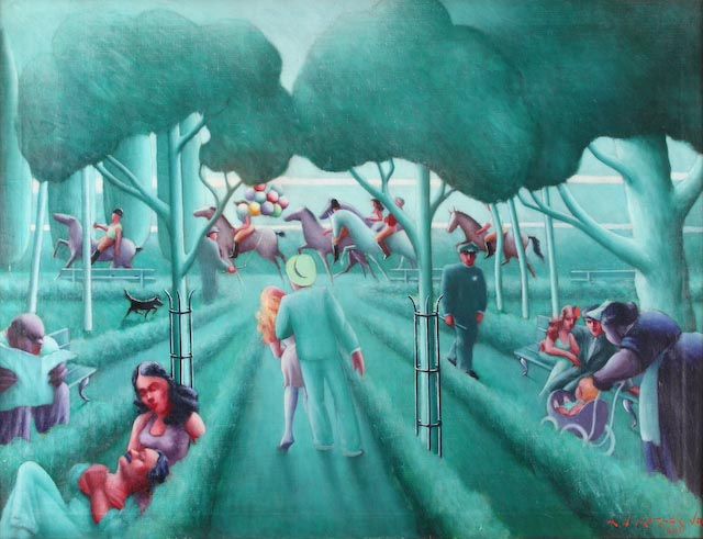 Sunday in the Park by Archibald Motley