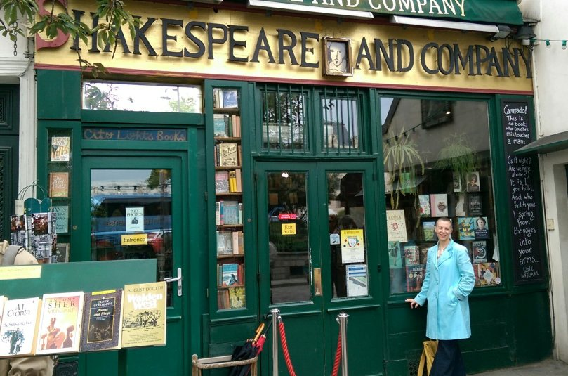 at shakespeare and company